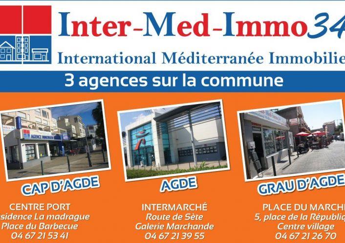 A vendre Le Cap D'agde 3458243642 Inter-med-immo34