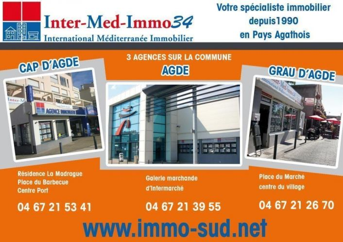 A vendre Le Cap D'agde 3458243647 Inter-med-immo34