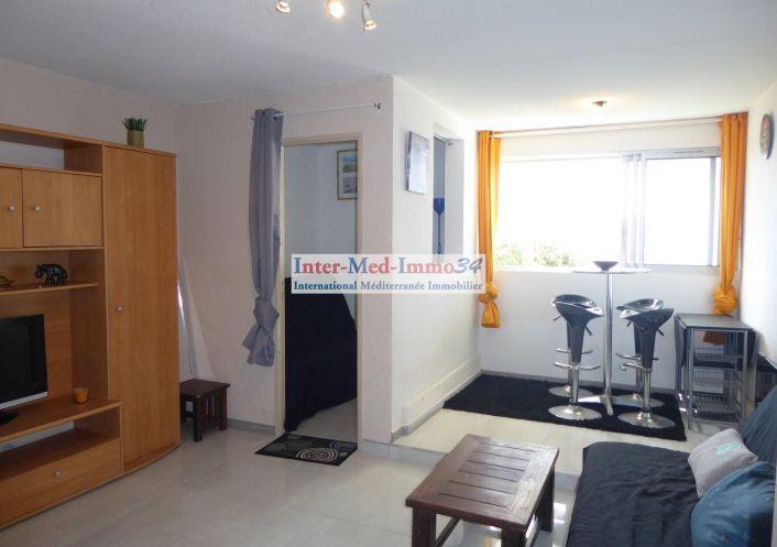A vendre Appartement Le Cap D'agde   Réf 3458243714 - Inter-med-immo34