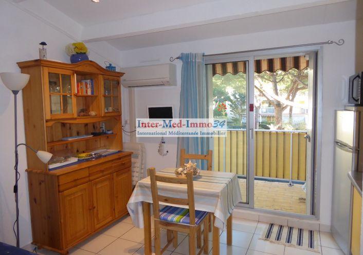 A vendre Appartement Le Cap D'agde   Réf 3458243738 - Inter-med-immo34