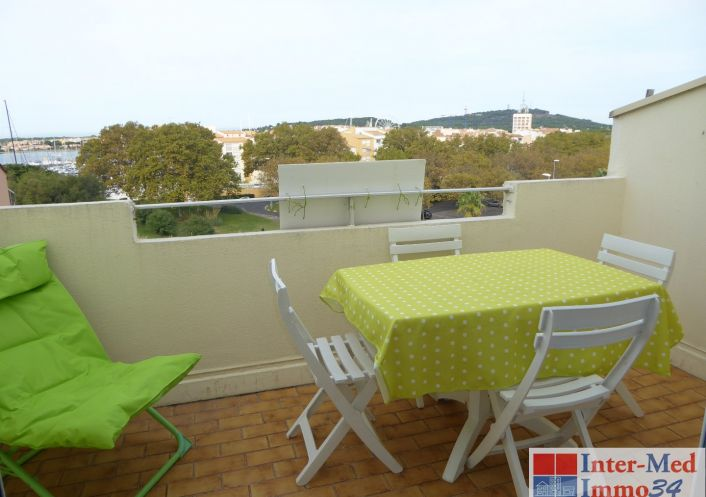 A vendre Appartement Le Cap D'agde | Réf 3458243923 - Inter-med-immo34