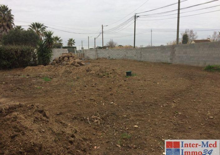 A vendre Terrain constructible Le Cap D'agde   Réf 3458243940 - Inter-med-immo34