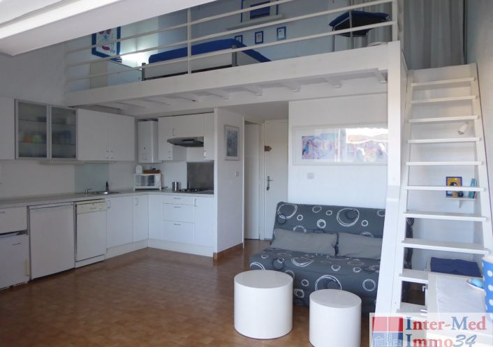 A vendre Appartement Le Cap D'agde | Réf 3458243943 - Inter-med-immo34