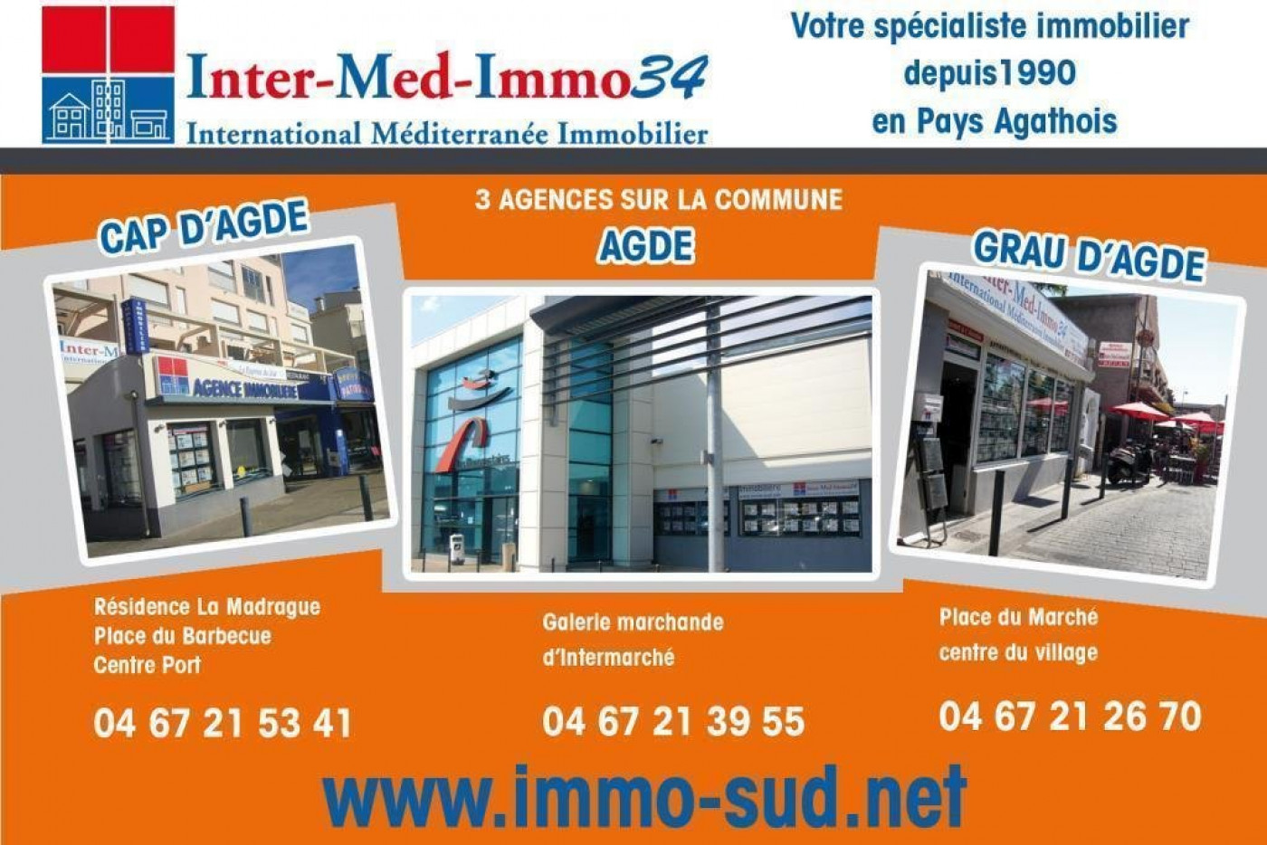 A vendre Le Cap D'agde 3458243944 Inter-med-immo34