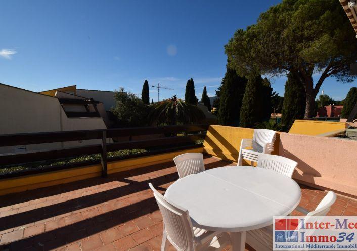 A vendre Appartement Le Cap D'agde   Réf 3458243953 - Inter-med-immo34
