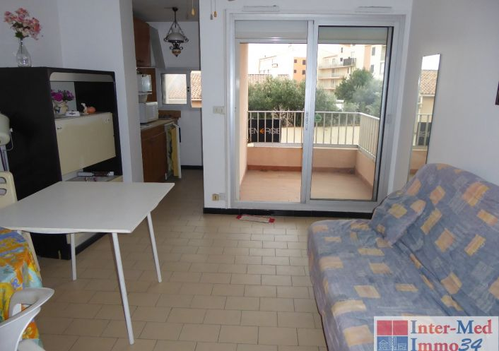 A vendre Appartement Le Cap D'agde   Réf 3458243994 - Inter-med-immo34
