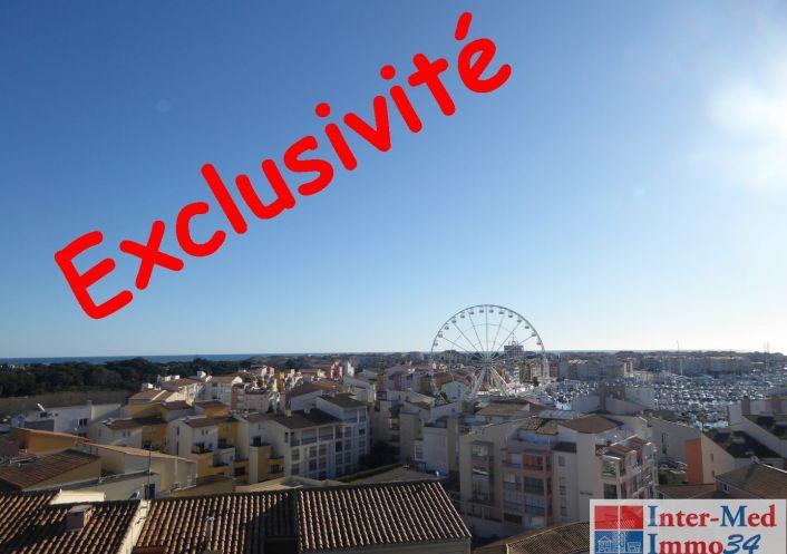 A vendre Appartement Le Cap D'agde   Réf 3458244059 - Inter-med-immo34