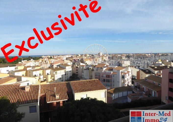 A vendre Appartement Le Cap D'agde   Réf 3458244061 - Inter-med-immo34