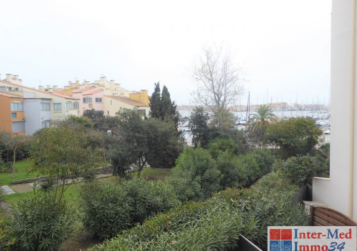A vendre Appartement Le Cap D'agde   Réf 3458244107 - Inter-med-immo34