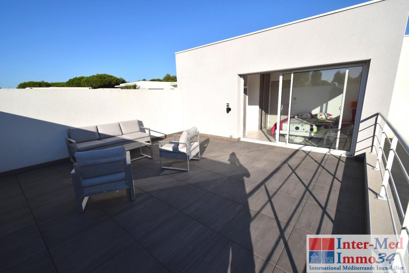 A vendre  Le Cap D'agde   Réf 3458244305 - Inter-med-immo34 - prestige
