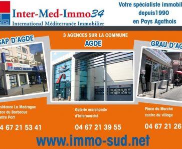 For sale Le Grau D'agde  3458343671 Inter-med-immo34