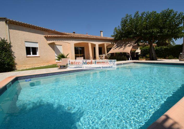 A vendre Villa Le Grau D'agde   R�f 3458343833 - Inter-med-immo34 - prestige