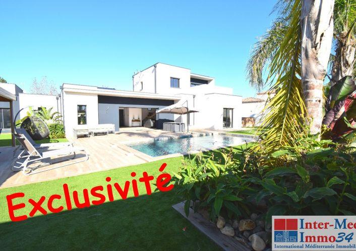 A vendre Villa d'architecte Le Cap D'agde | Réf 3458344323 - Inter-med-immo34