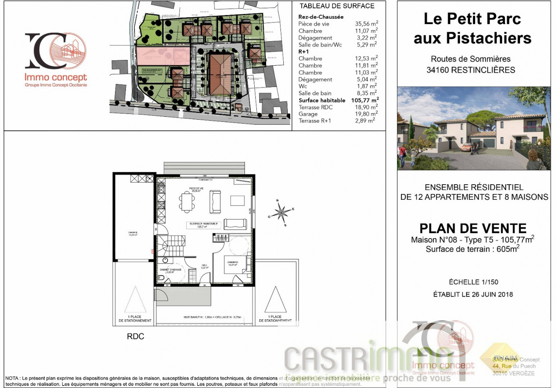 A vendre Restinclieres 34586189 Castrimmo