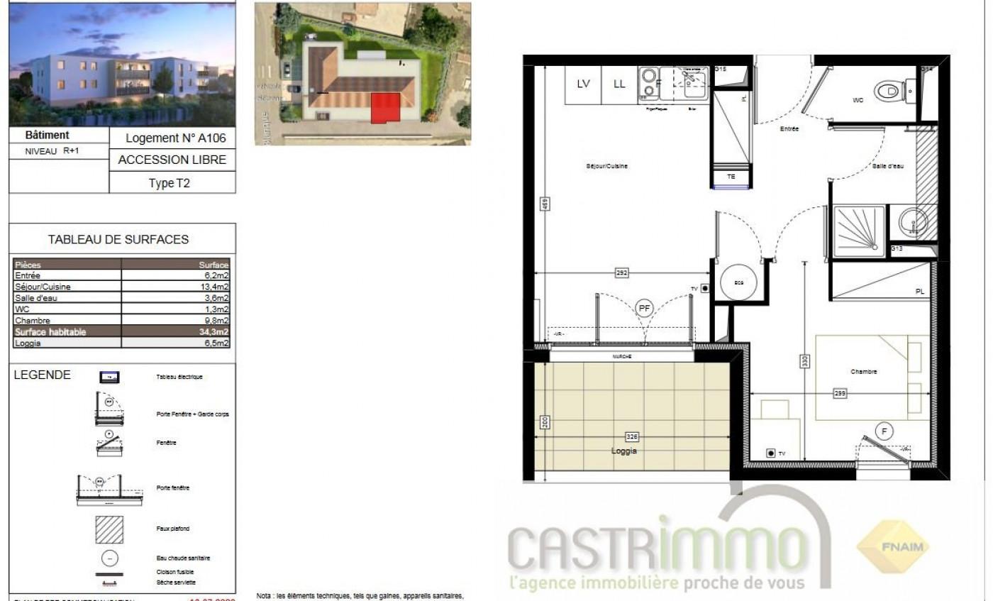 A vendre  Mauguio | Réf 3458651306 - Castrimmo