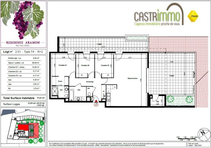 A vendre Restinclieres 34586856 Castrimmo