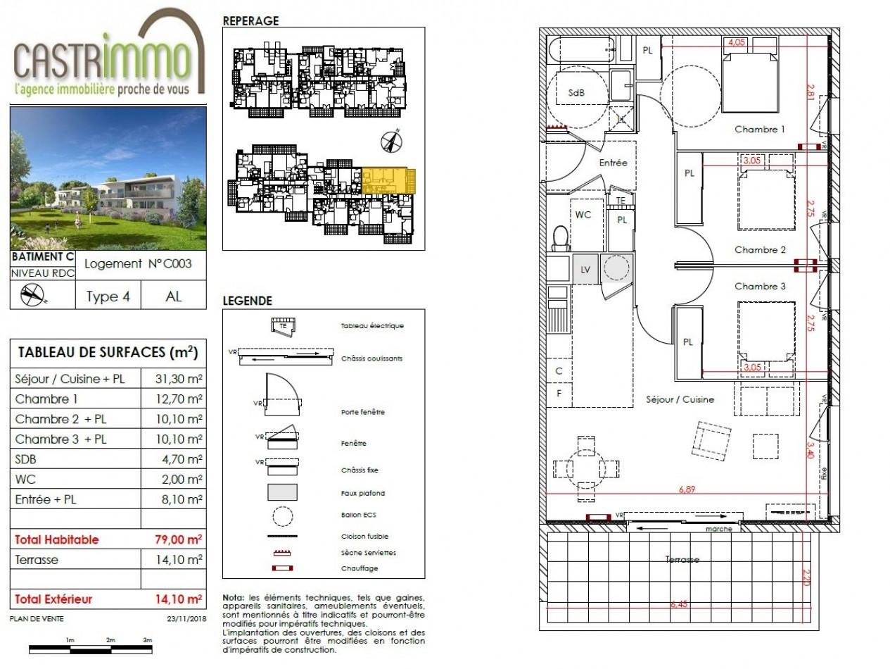 A vendre Clapiers 34586857 Castrimmo