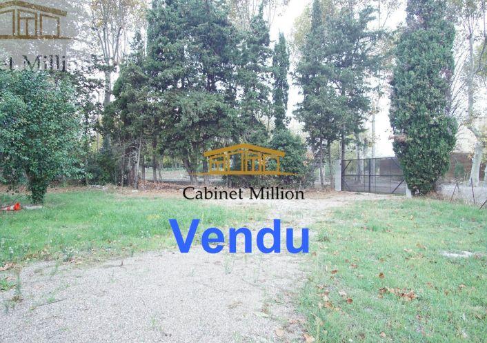 A vendre Terrain constructible Mireval   Réf 346441004 - Cabinet million