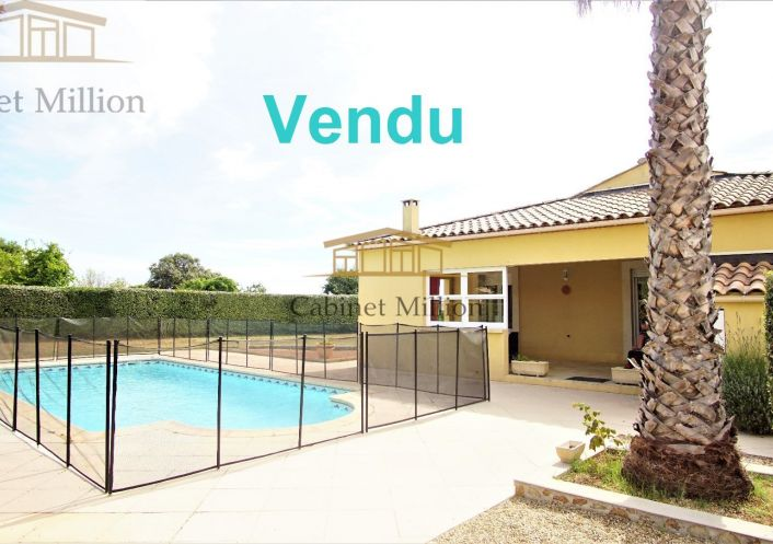 A vendre Villa Vic La Gardiole   Réf 346442550 - Cabinet million