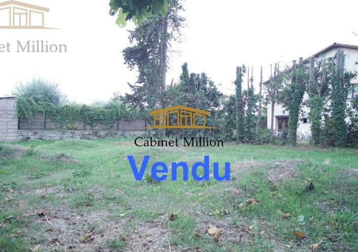 A vendre Terrain constructible Mireval   Réf 34644972 - Cabinet million