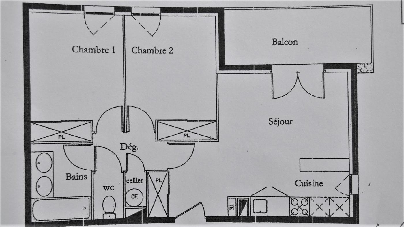 A vendre Agde 34665110 Cabinet git