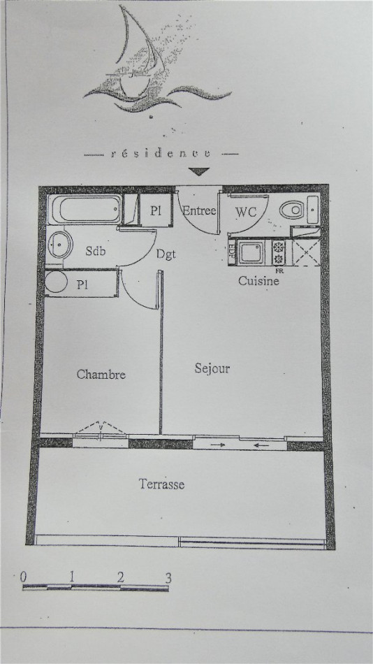 A vendre Agde 3466596 Cabinet git