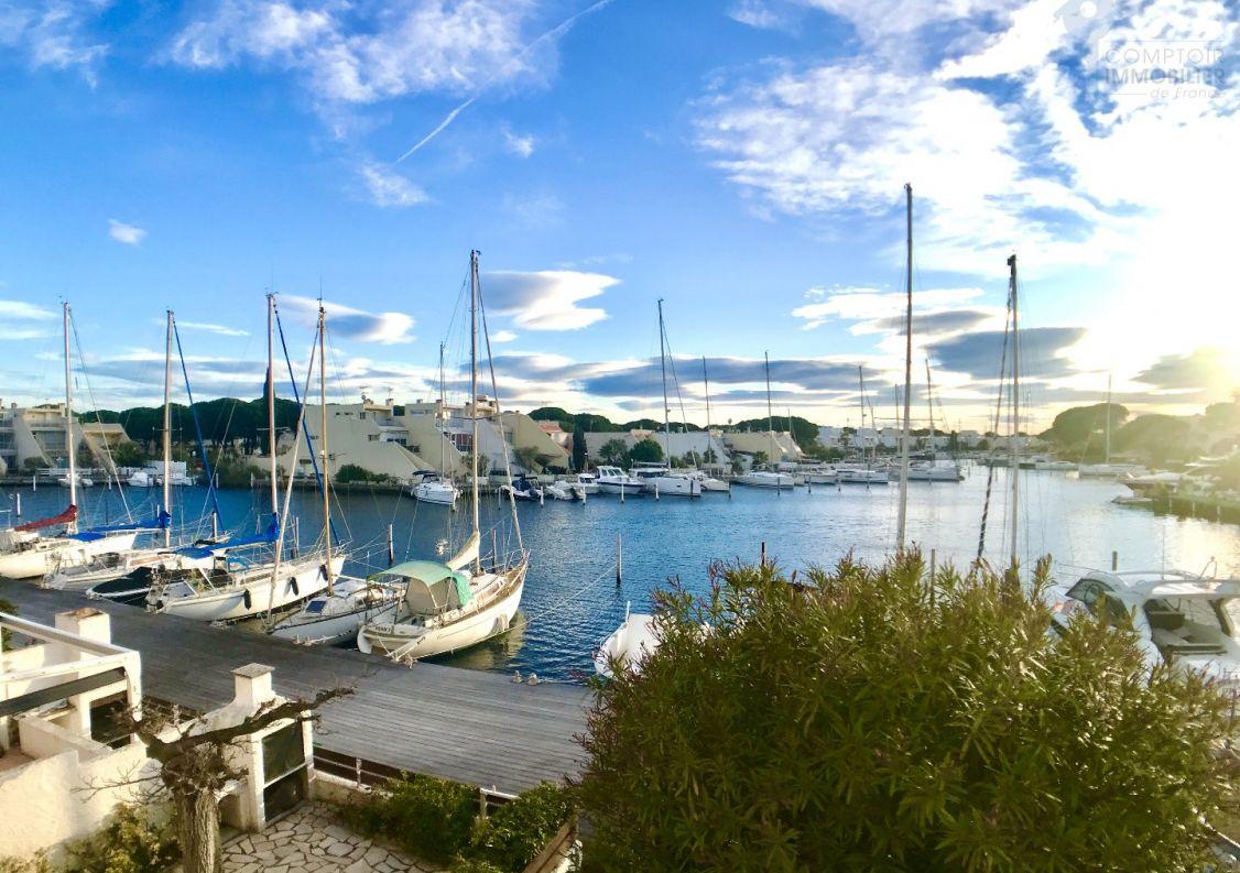 A vendre Appartement en marina Port Camargue | R�f 3469261779 - Comptoir immobilier de france