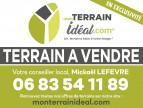 A vendre  Saint Martin D'auxigny | Réf 360021018 - Mon terrain ideal
