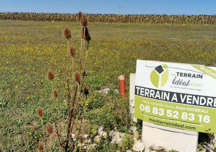 A vendre Terrain constructible Saint Caprais   R�f 360021025 - Mon terrain ideal