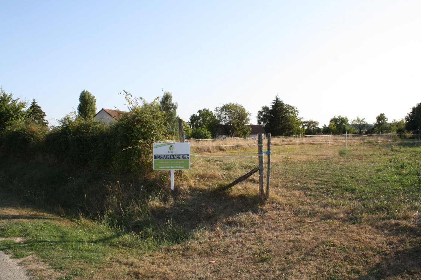 A vendre Saint Martin D'auxigny 36002349 Mon terrain ideal