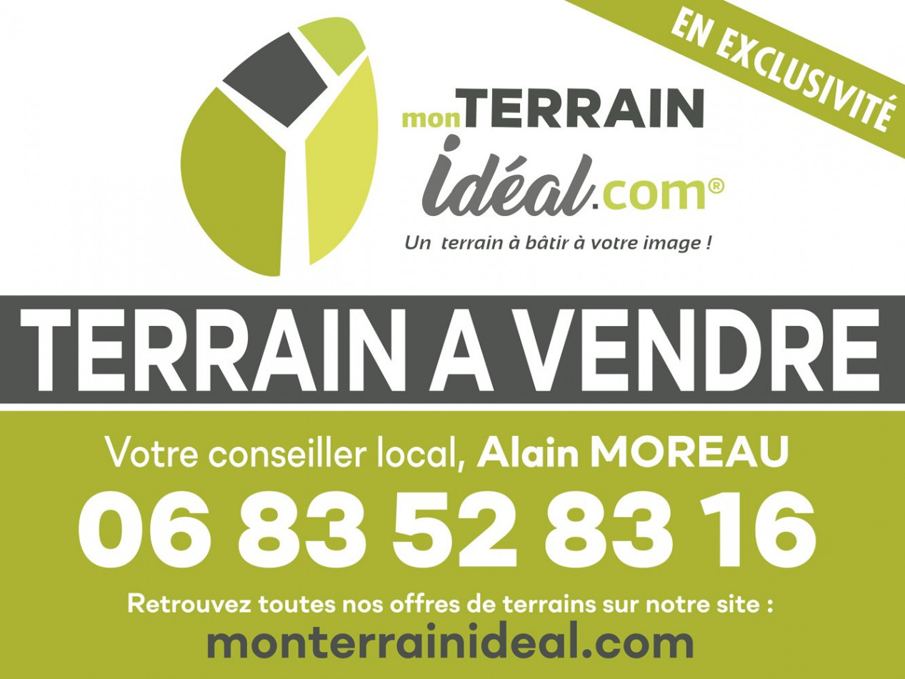 A vendre Saint Martin D'auxigny 36002676 Mon terrain ideal