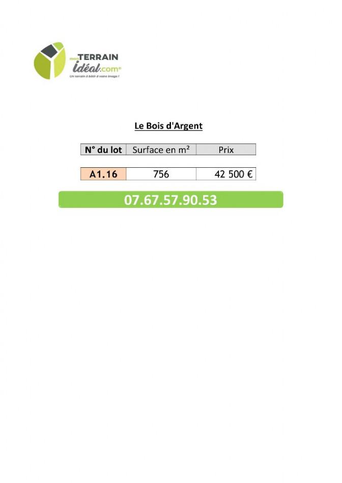 A vendre  Saint Florent Sur Cher | Réf 36002772 - Mon terrain ideal