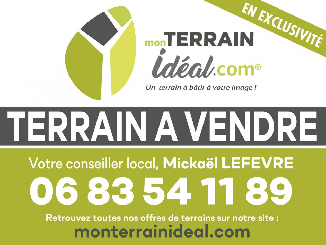 A vendre Saint Martin D'auxigny 36002812 Mon terrain ideal