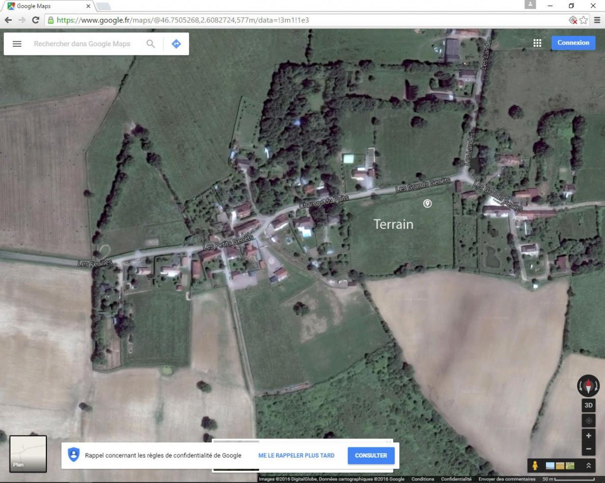A vendre Saint Pierre Les Etieux 36002889 Mon terrain ideal
