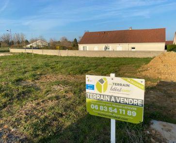 A vendre  Saint Martin D'auxigny | Réf 36002932 - Mon terrain ideal