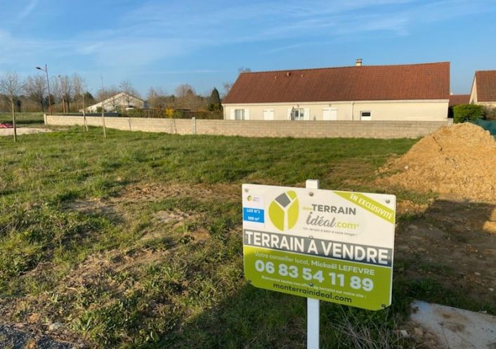 A vendre Terrain constructible Saint Martin D'auxigny   R�f 36002932 - Mon terrain ideal