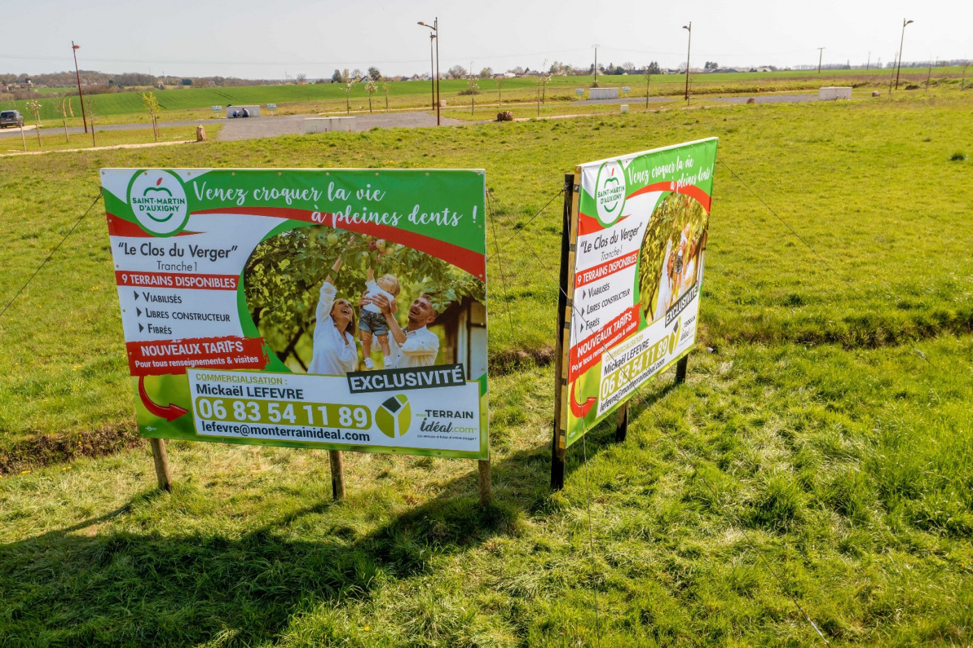 A vendre  Saint Martin D'auxigny   Réf 36002934 - Mon terrain ideal