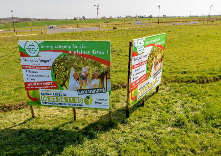 A vendre Terrain constructible Saint Martin D'auxigny   R�f 36002934 - Mon terrain ideal