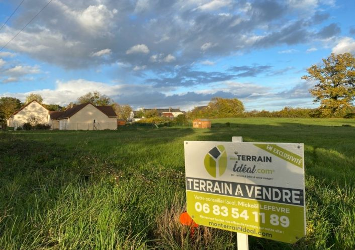 A vendre Terrain constructible Saint Martin D'auxigny   R�f 36002944 - Mon terrain ideal