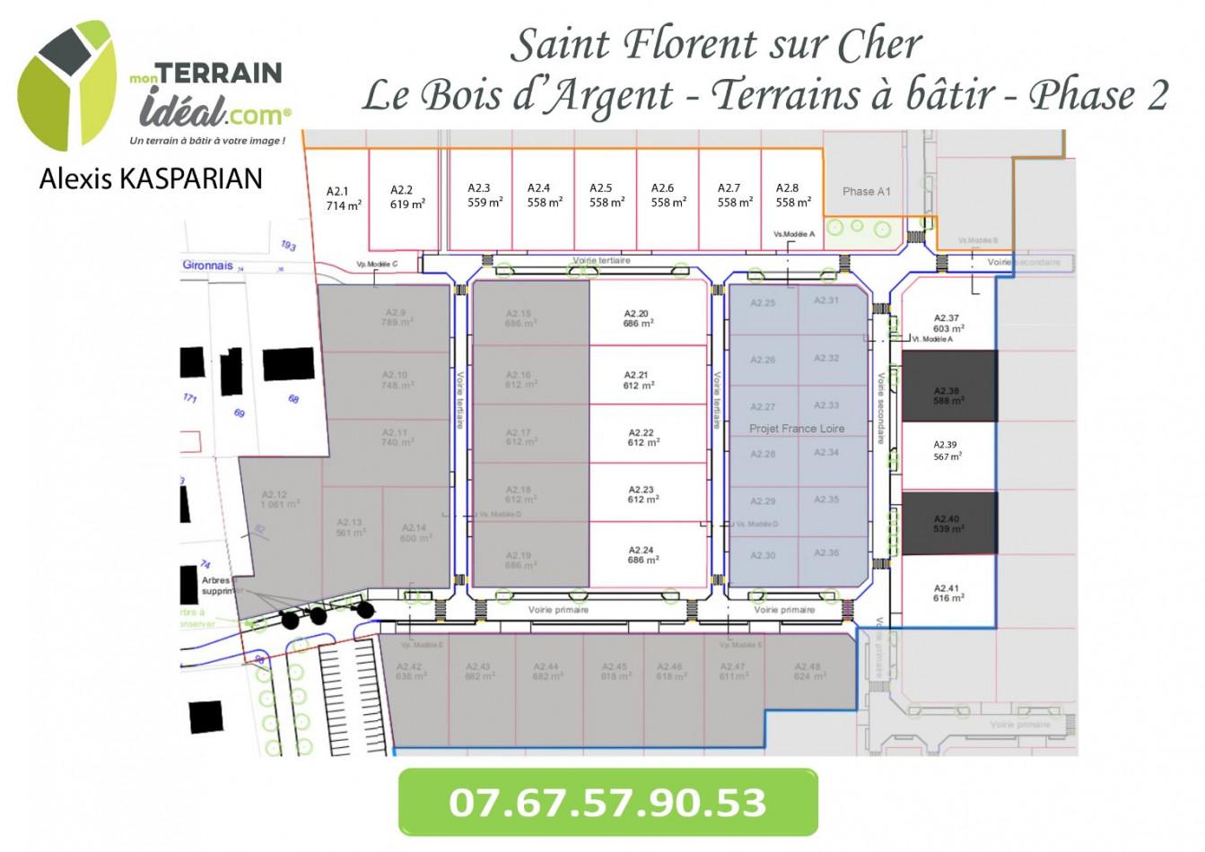 A vendre  Saint Florent Sur Cher   Réf 36002949 - Mon terrain ideal