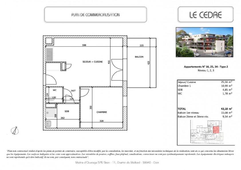 A vendre  Rives   Réf 380204441 - Immo'z-bspi