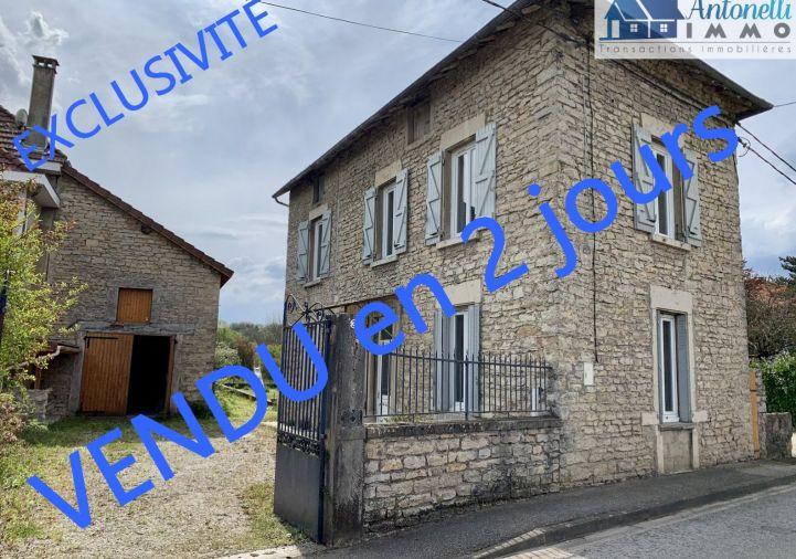 A vendre Maison en pierre Montalieu Vercieu   Réf 38039131 - Antonelli immo
