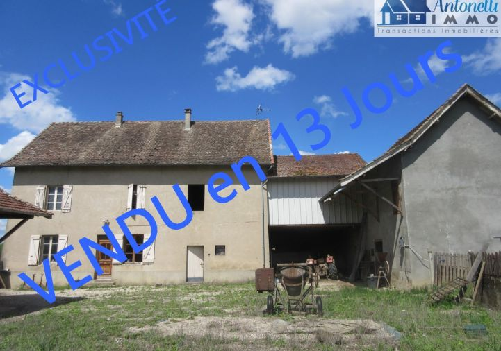 A vendre Maison à rénover Saint Sorlin De Morestel   Réf 38039132 - Antonelli immo