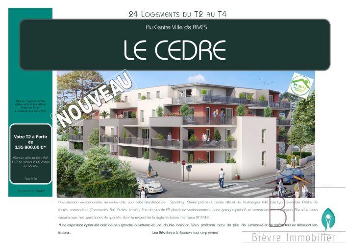 A vendre Appartement Rives | Réf 380422365 - Bievre immobilier