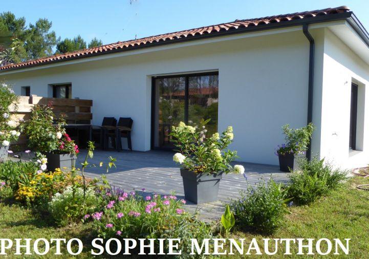 A vendre Maison contemporaine Tosse | Réf 4000911625 - Equinoxes immobilier