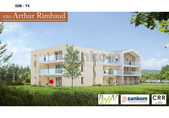 A vendre Appartement neuf Chadrac | R�f 43002216 - Belledent nadine