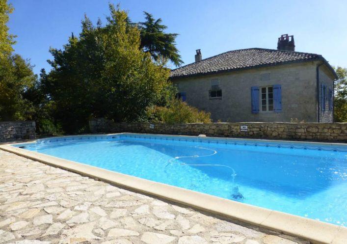 A vendre Maison de ma�tre  Montaigu De Quercy  | R�f 4600315953 - Prayssac immobilier