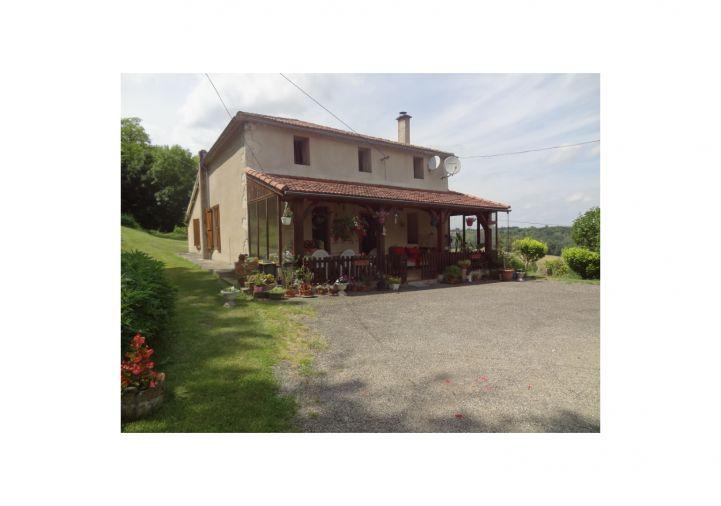 A vendre Maison Saint Amans Du Pech | Réf 4600416204 - Puy l'Évèque immobilier international