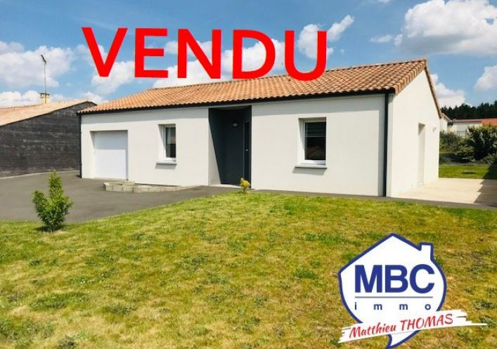 A vendre Maison contemporaine Saint Remy En Mauges | Réf 490032381 - Mbc immo