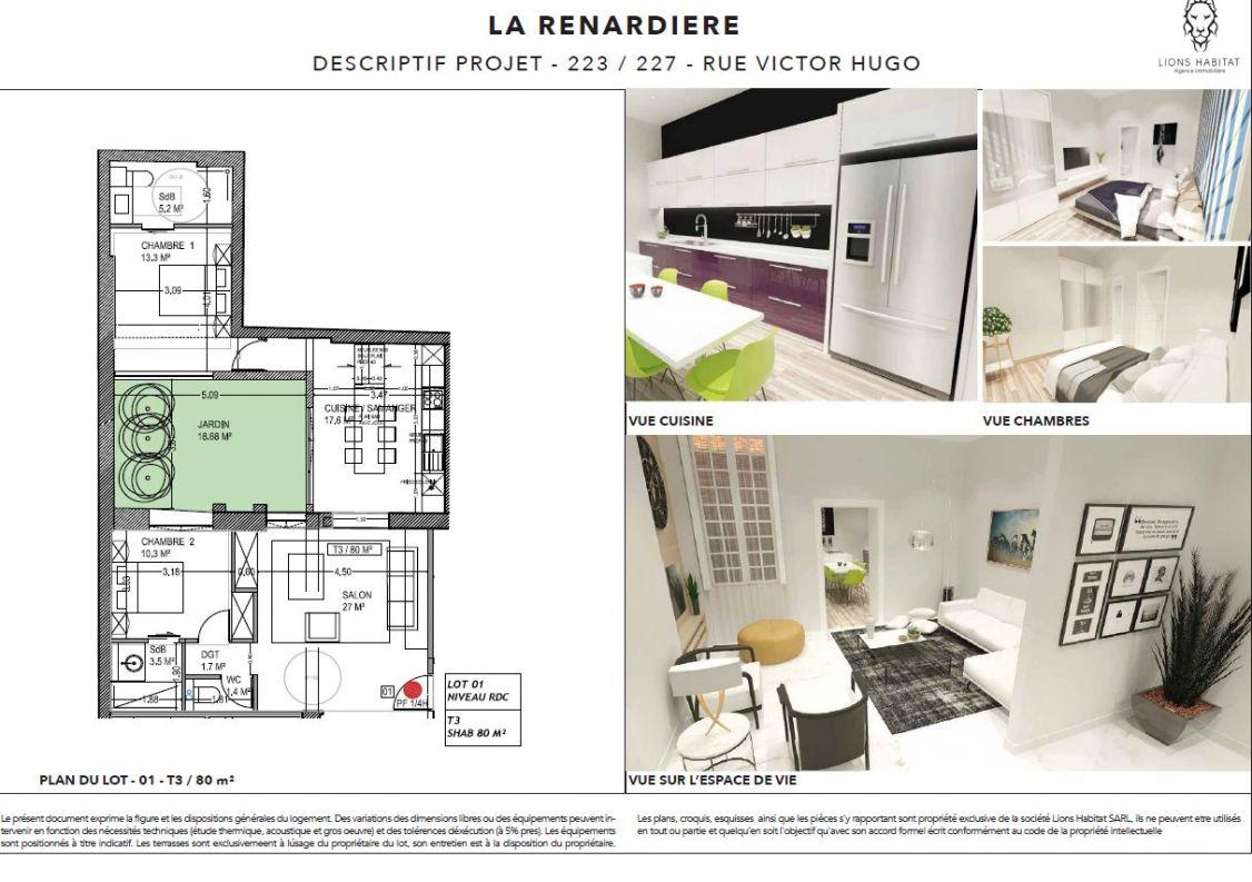 A vendre Lille 5901437 Lions habitat